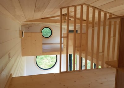 double mezzanine tiny house