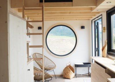 plan interieur tiny house