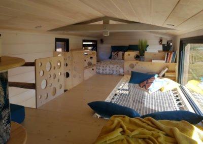 tiny house double mezzanine
